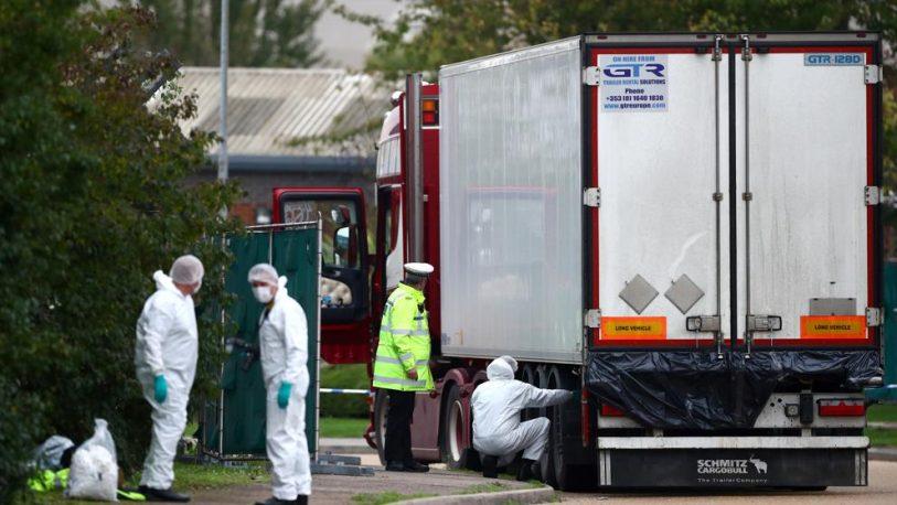 Londres: Las 39 personas halladas muertas eran chinas