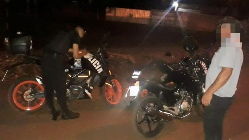 Detenidos, licencias de conducir, motos y vehículos retenidos