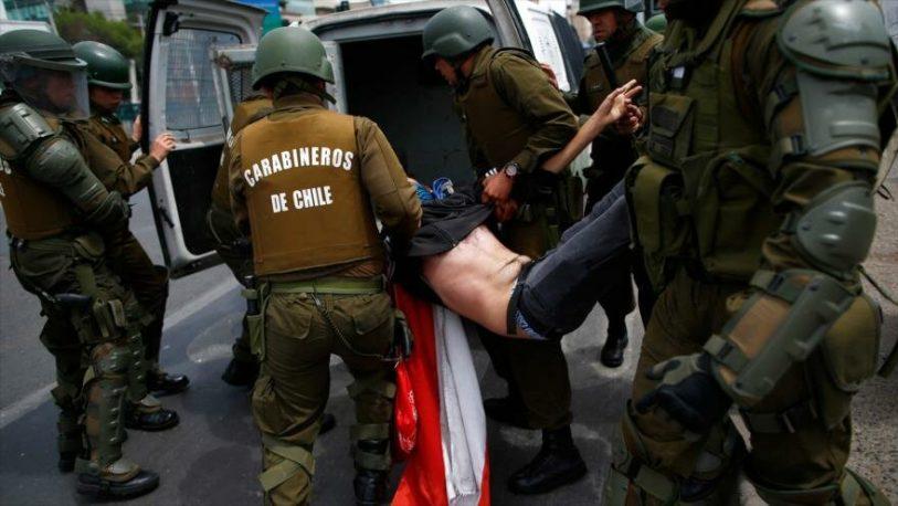 Para la Cruz Roja chilena hay 2500 heridos por la represión de las protestas