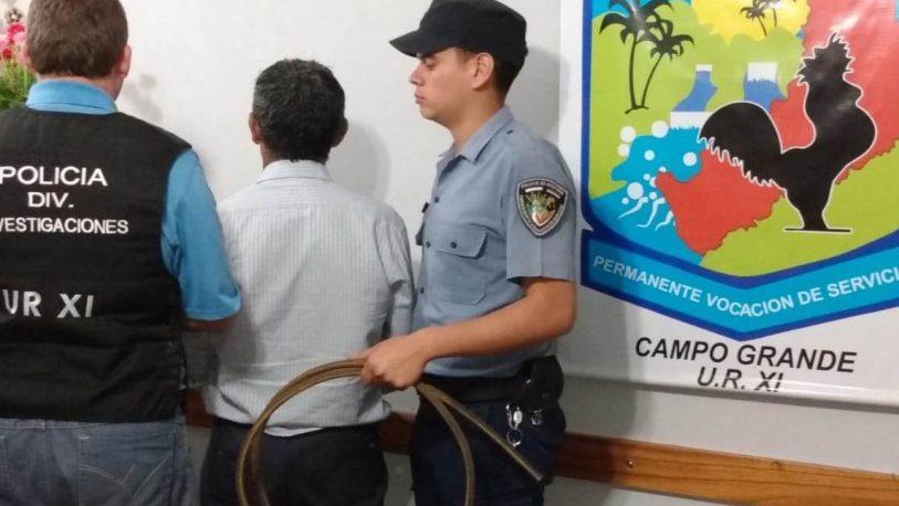 Campo Grande: Un detenido por robar en la Municipalidad