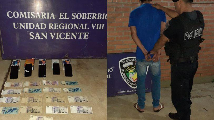 Detenido por robar en una agencia de quinielas