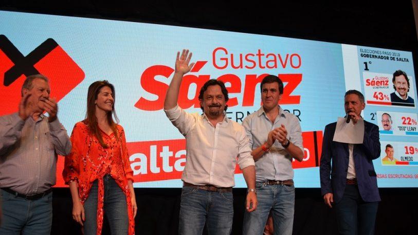 Salta: El precandidato a gobernador más votado en las PASO fue Sáenz