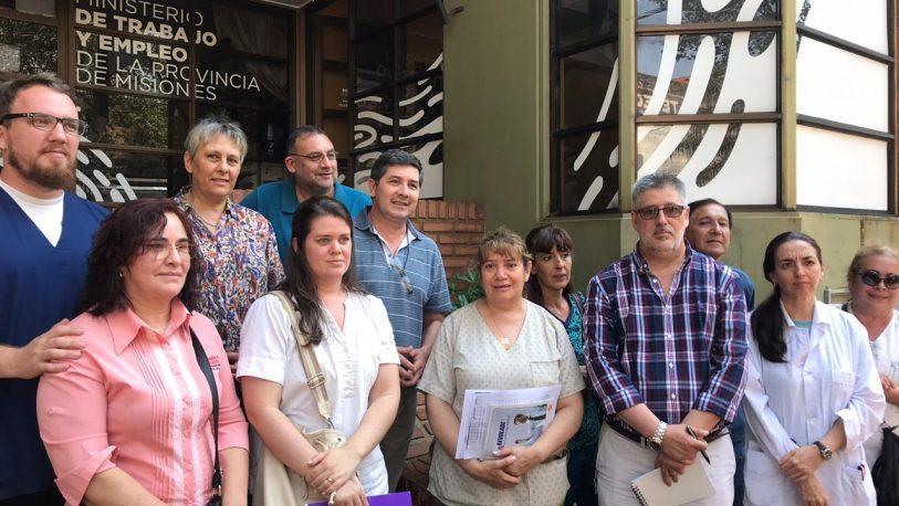 Villalba dejó plantados a los empleados del Pediátrico