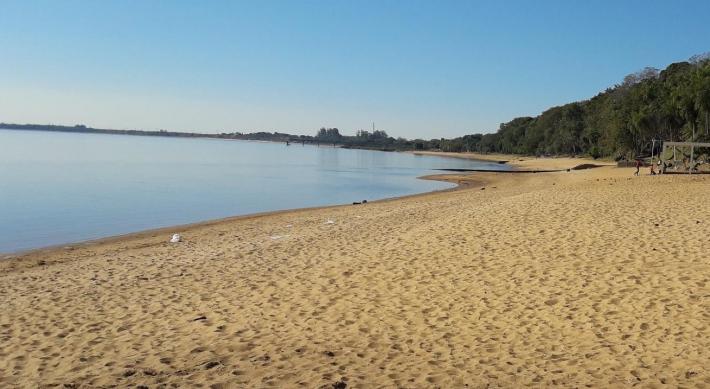 Chaco: el Río Paraná continúa bajando