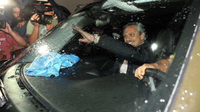 Alberto se reunió con Cristina y Máximo Kirchner para definir el gabinete