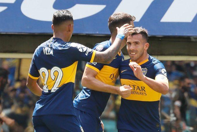 Boca goleó a Arsenal en La Bombonera: 5-1
