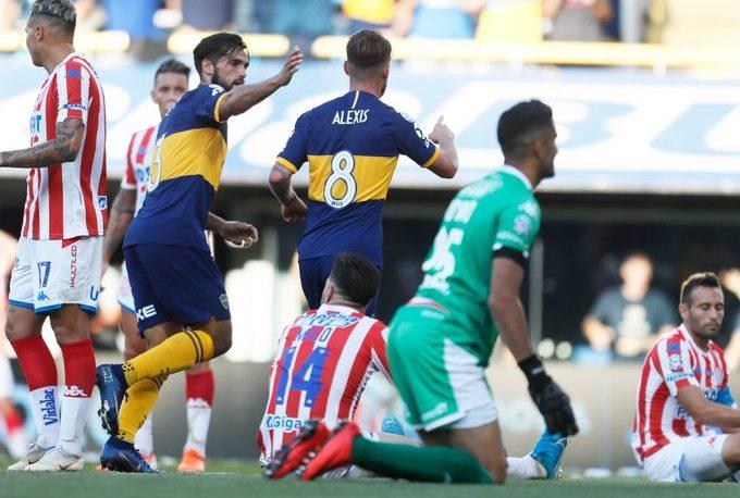Boca venció 2-0 a Unión y se ubicó en la punta en soledad