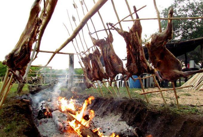 Asado, música y animales en la Fiesta del Cordero