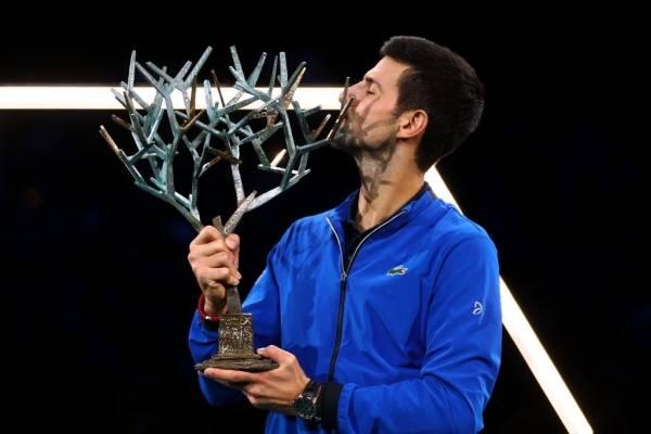 Djokovic ganó su quinto torneo en París – Bercy