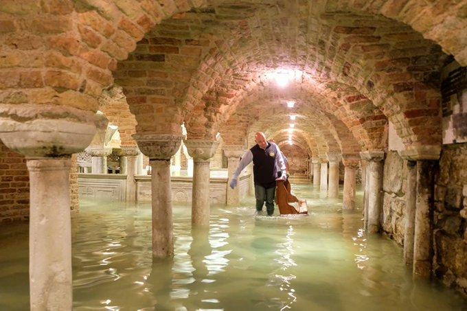 """El 80% de Venecia bajo el agua en una """"devastación apocalíptica"""""""