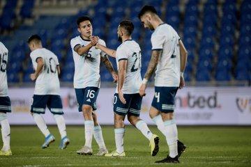 El seleccionado sub 23 le hizo 14 goles a Islas Canarias