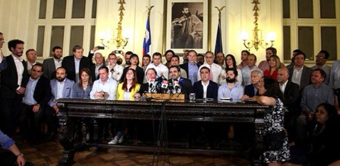 Chile: las fuerzas políticas acuerdan cambios a la Constitución
