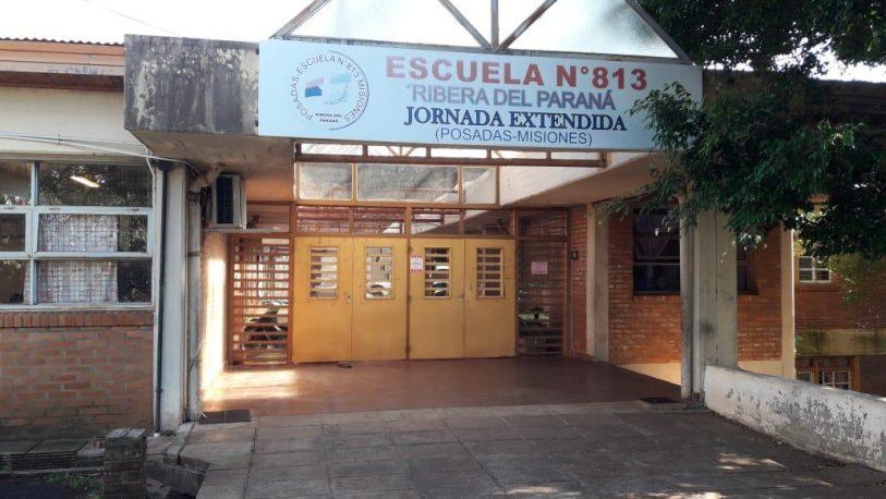 """Echaron a docentes en Escuela 813 y alertan que el CGE """"quiere el edificio"""""""