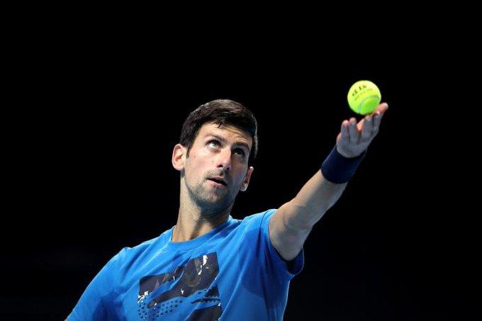 Djokovic enfrenta a Berrettini en el inicio del Masters de Londres