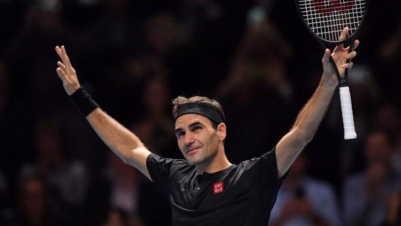 Federer pasó a semifinales en Londres y Nadal cerrará el año como número uno