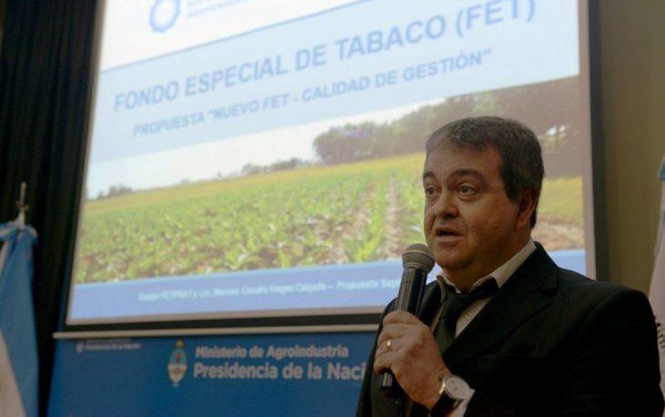 Tras el conflicto tabacalero, Bárbaro denunció al administrador del FET
