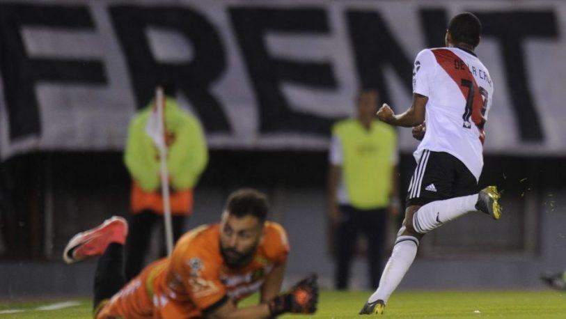 River Plate le ganó a Aldosivi y se sumó a la cima de la tabla