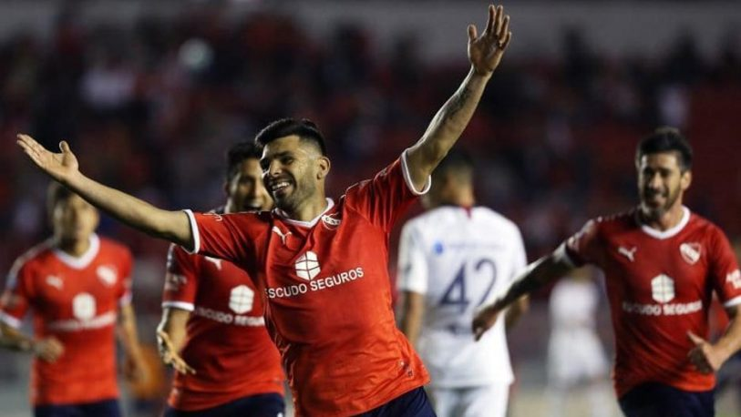 """Independiente venció a San Lorenzo en un """"clásico devaluado"""""""