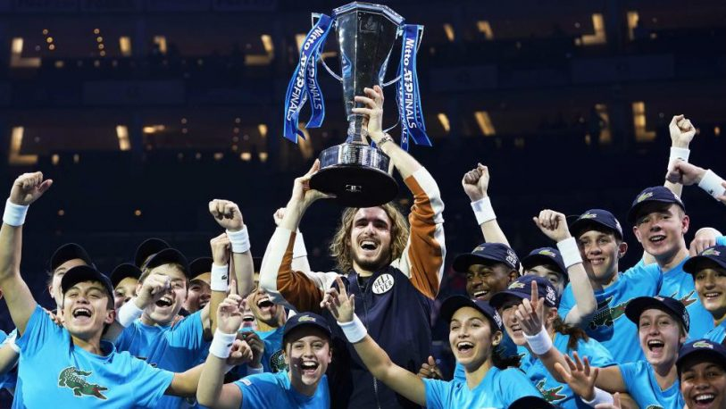 Tsitsipas se consagró campeón del Masters de Londres