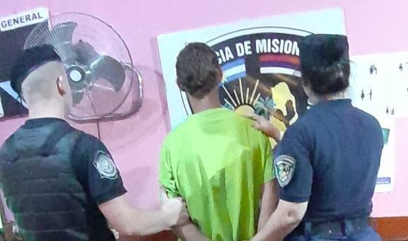 Violento detenido por amenazas y lesiones