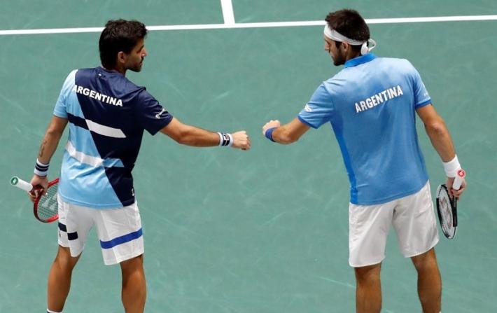 Argentina cerró 3-0 la serie ante Chile en su debut en la Copa Davis