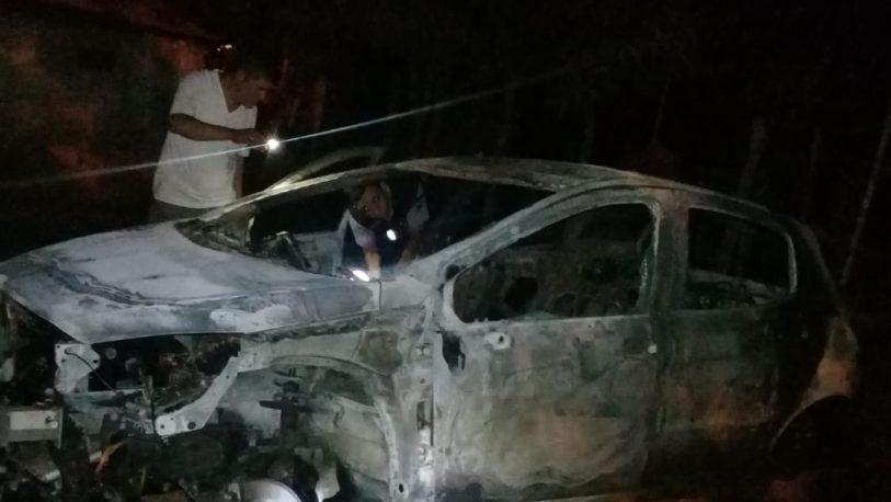 Chocó el auto y cuatro meses después se le incendió