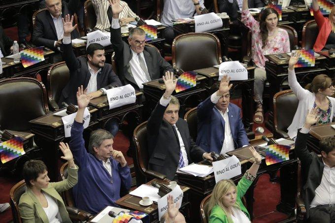Durísima réplica tras la declaración de repudio al golpe en Bolivia