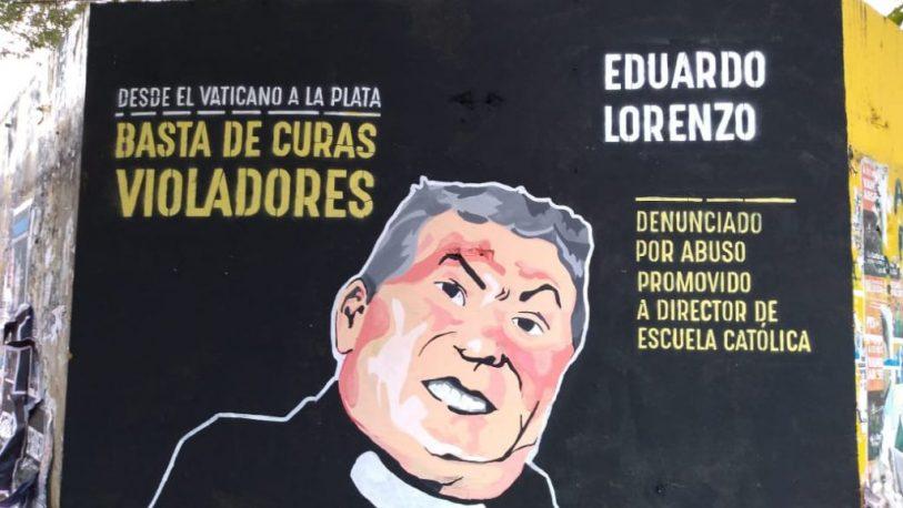 Marcha en repudio a un sacerdote acusado de abuso en La Plata