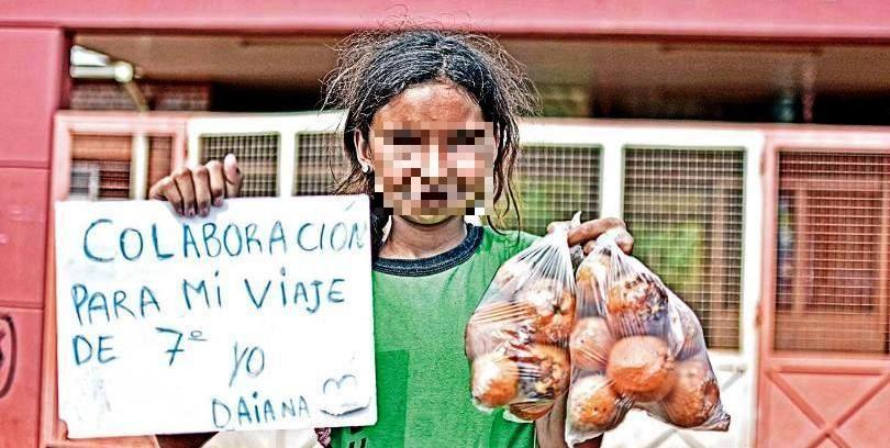 Vendió limones para pagar viaje escolar y su madre fue intimada por Desarrollo Social