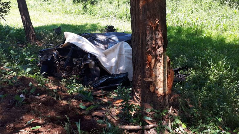 Identificaron a los fallecidos en despiste sobre ruta 12