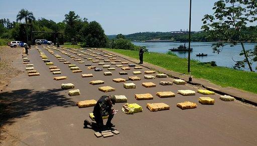 Secuestraron más de 8.000 kilos de marihuana valuada en más de 500.900.000 pesos