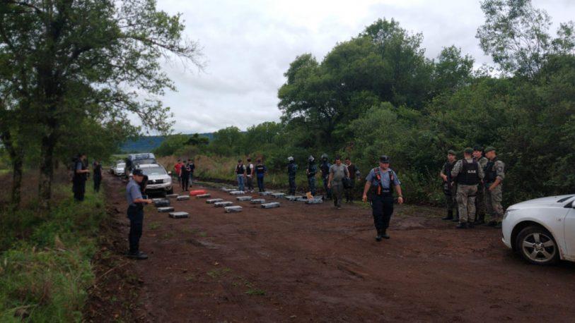 Secuestraron otros 400 kilos de marihuana en Cerro Corá