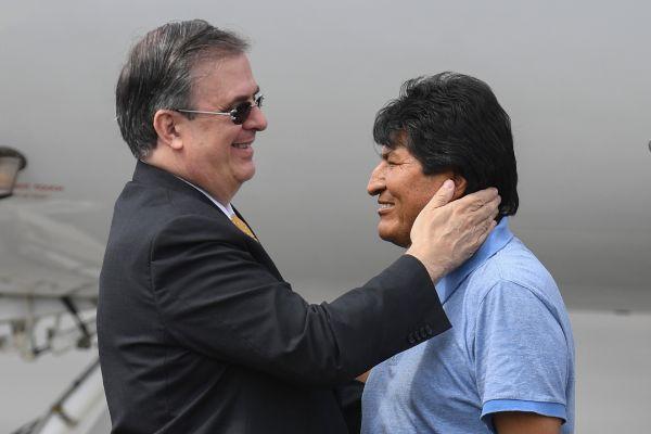 """Evo Morales: """"México me salvó la vida"""""""