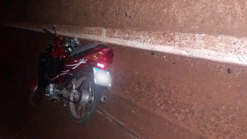 Motociclista falleció tras despiste en Garupá