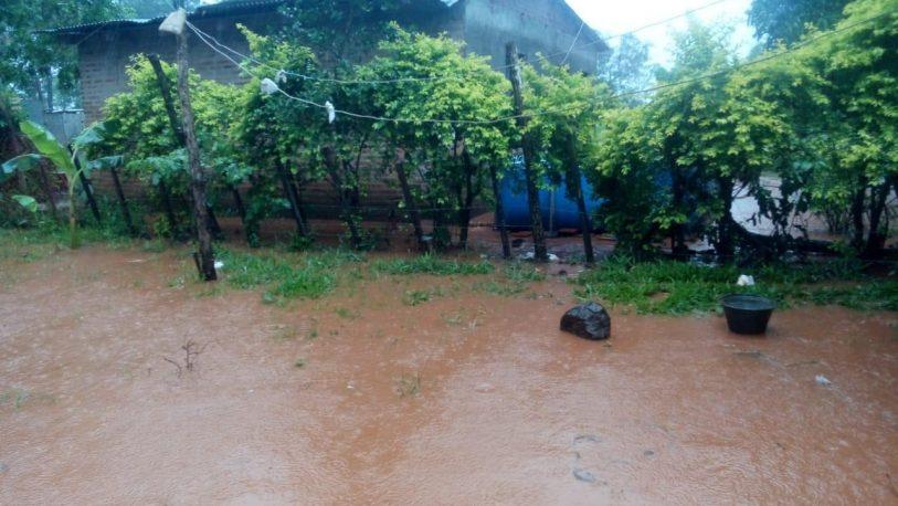 Familias inundadas con aguas servidas en Los Potrillos