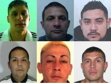 Desafectan a cinco policías por la fuga de 11 presos