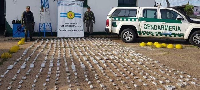 Interceptaron camión con 10 toneladas de marihuana