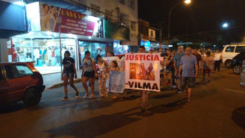 Iguazú volvió a pedir justicia por Vilma