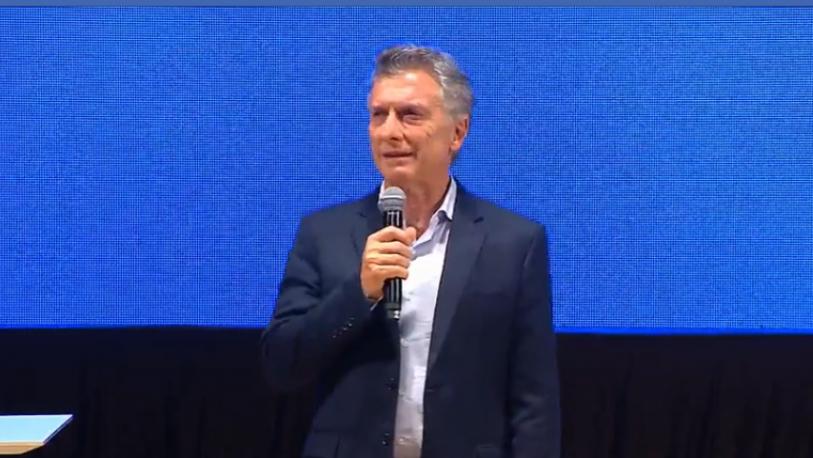 """Macri: """"Gobernamos con honestidad y nos vamos a casa con conciencia tranquila"""""""