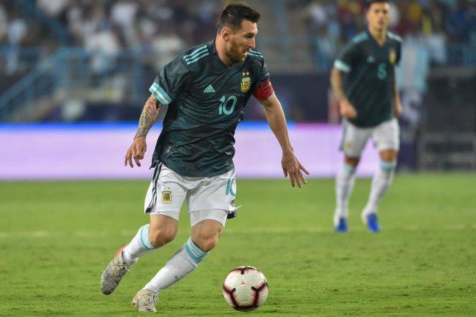 Argentina le ganó 1 a 0 a Brasil con gol de Messi