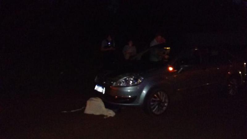 Peatón falleció al ser embestido por un auto