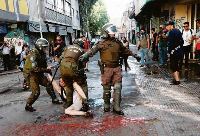Más de 20.000 imputaciones desde el inicio del estallido en Chile