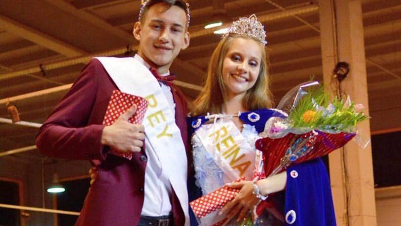 María José y Sebastián son los nuevos reyes de los estudiantes