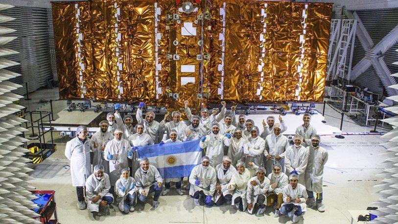 Satélite argentino terminó las pruebas y será enviado a EEUU para su lanzamiento
