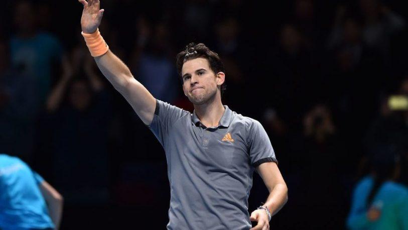 Thiem pasó a semifinales y Djokovic define su pase con Federer en el Masters