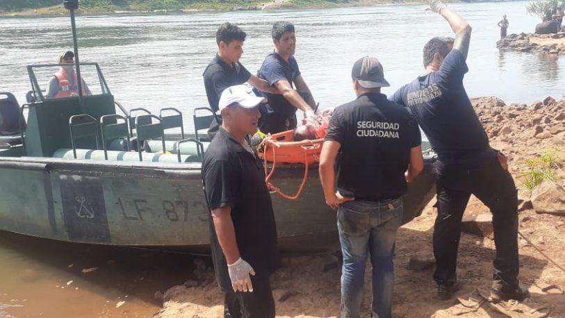 Iguazú: Rescataron a un turista que cayó al Salto Mariposa