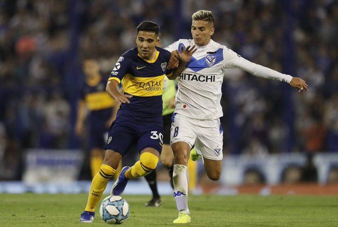 Boca empató con Vélez y es puntero junto a Lanús y Argentinos