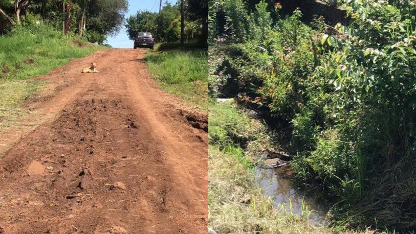 Inundaciones y arreglo de calles, principales reclamos de vecinos de Villalonga
