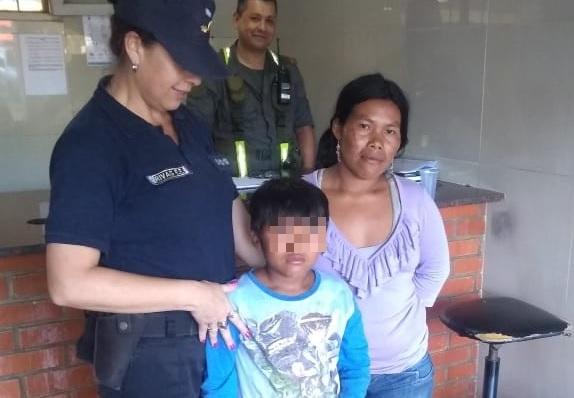Iguazú: el niño mbya estaba en Paraguay