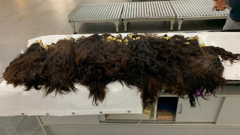 Incautan contrabando de cabello en Foz